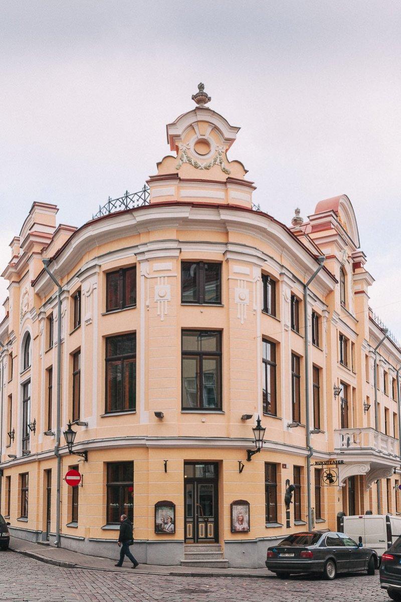 ПРОГУЛКА ПО ЯРКОМУ И ОСЕННЕМУ ТАЛЛИНУ | aleksandraart.com