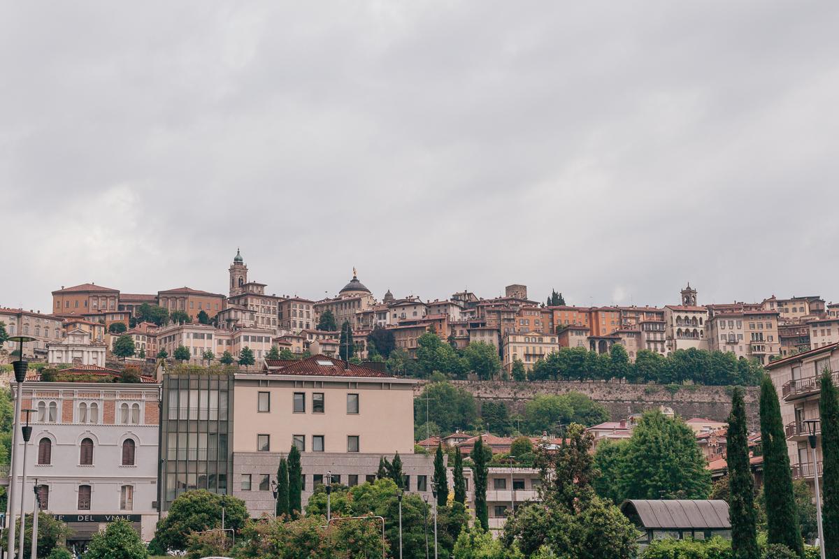 Бергамо. Смотровые Бергамо
