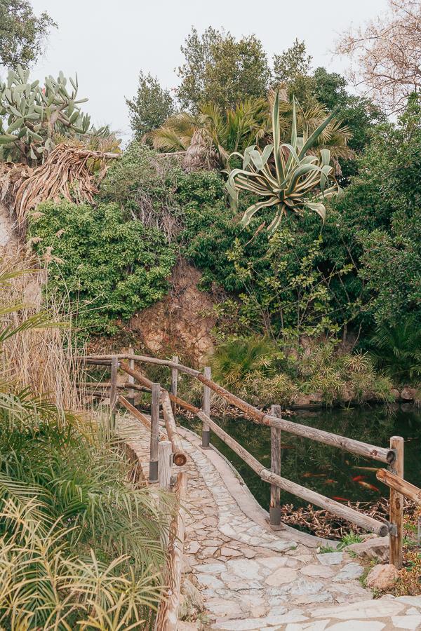 ботанический сад маримуртра, коста-брава, испания title=