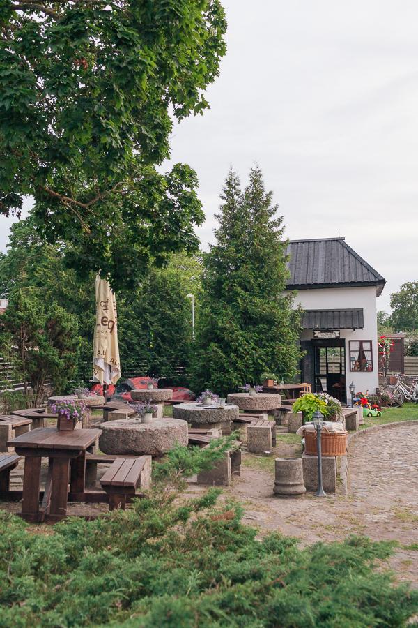 Кафе мельница Сааремаа