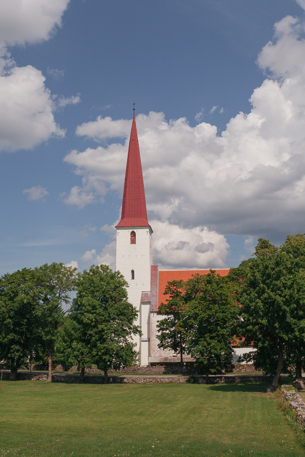 церковь сааремаа